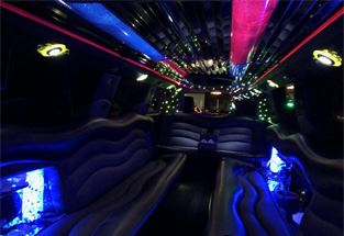 Five Star Limousine 2013 Cadillac Escalade 20 Pax  Limo. ( night interior pictures)