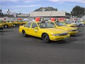 Five Star Limousine Competitor; city taxi picture.